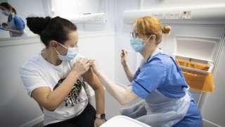 英國疫苗接種