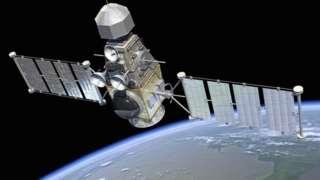 Artwork of generic satellite