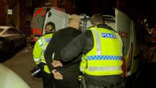 Arrest under way