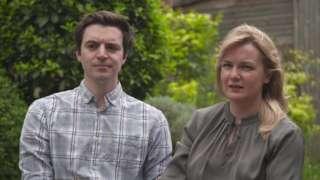 Daniel Whiteley and Sian Holmes