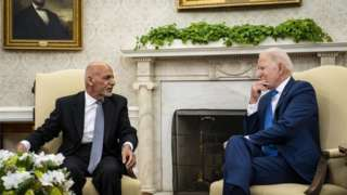 ဓါတ်ပုံ ၁။ ။ အမေရိကန်နိုင်ငံအနေနဲ့ အာဖဂန်နစ္စတန်နိုင်ငံကို ဆက်လက် ထောက်ပံ့ပေးသွားမယ်လို့ မစ္စတာ ဘိုင်ဒန်က ပြော