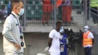 Micho, l'entraîneur de la Zambie