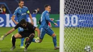 Kwallon Aaron Ramsey ta taimaka wa Juventus sanin matsayarta