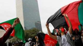聯合國大會期間將選出屬下全權證書委員會的成員,這個委員會可能會處理塔利班奪權後,阿富汗會由哪個執政實體派駐代表到聯合國。