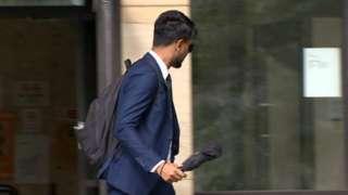Abu Kaher leaving court