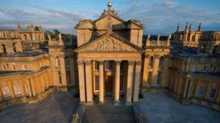 Blenheim Palace Great Court