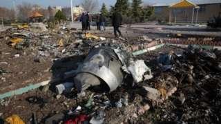 यूक्रेन विमान दुर्घटनाग्रस्त