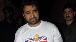 Raj Kundra attends a party in Mumbai in 2011.