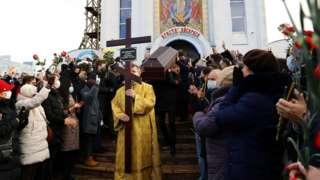 Похороны Бондаренко