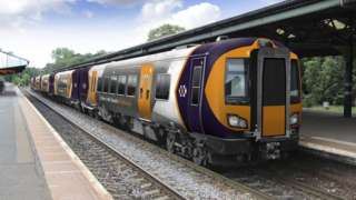 A West Midlands Railway train