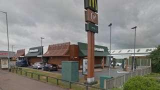 McDonalds, Watling Street, Tamworth