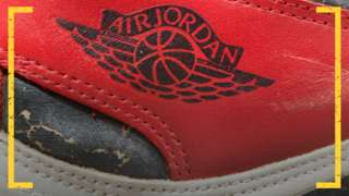 Air Jordan 1s close-up