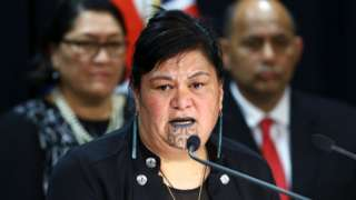 Newly appointed Minister of Foreign Affairs Nanaia Mahuta