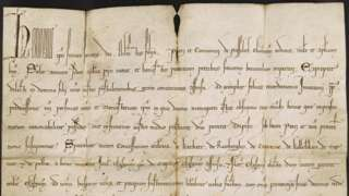 The Papal Bull was signed by a 13th Century Pope