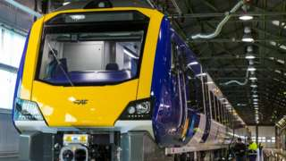 New Northern trains at the factory