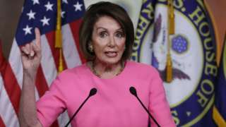House Speaker Nancy Pelosi (D-CA) speaks during her weekly news conference on Capitol Hill May 23, 2019 in Washington, DC. Speaker Pelosi said she is concerned for the President Trump's well being and that of the country