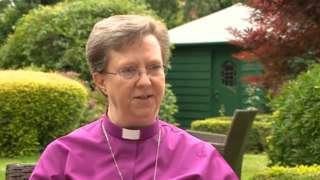 The Bishop of Shrewsbury, the Right Revd Sarah Bullock
