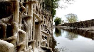 Roadside icicles in Ardleigh
