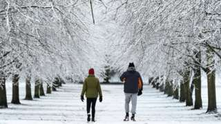 People walking in High Wycombe
