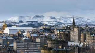 Edinburgh and Pentland Hills
