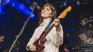 Cate Le Bon performs at the Brudenell Social Club