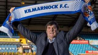 Tommy Wright is the new Kilmarnock manager