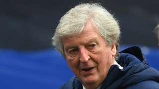 Crystal Palace boss Roy Hodgson