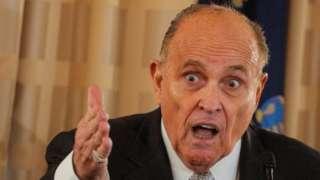 Rudy Giuliani. Photo: September 2020