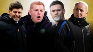 Steven Gerrard, Neil Lennon, Graham Alexander, David Martindale