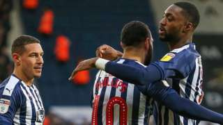 West Brom won in the Championship for the first time since the 3-2 victory at Birmingham on 14 December