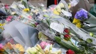 Floral tributes to Duke of Edinburgh