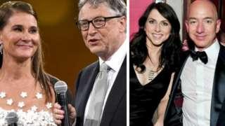 Ẹbi Bill Gates ati Jeff Becos tẹlẹ