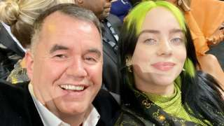 Terry George and Billie Eilish