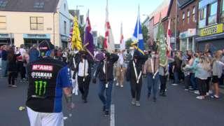 parade in newtownards