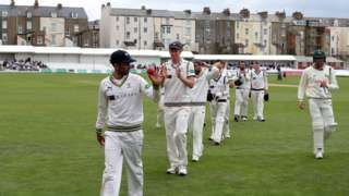 Kesh Maharaj has taken 28 wickets in four Championship matches - including this the second of two'five-fers'