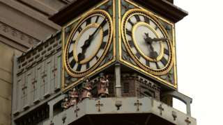 Frasers clock