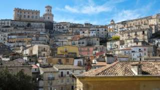 Calabria village for South of Italy