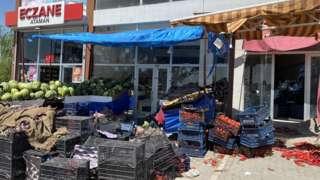 Battalgazi'de bir market