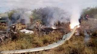 """Kajiado """"plane crash"""": 'Kenya Air Force military' [KDF chopper crash in Ngong Kajiado]"""