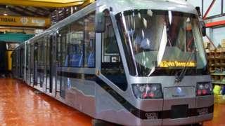 Preston tram vehicle