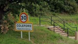 B4228 in Coleford