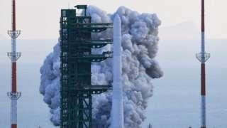 South Korea's homegrown rocket lifts off