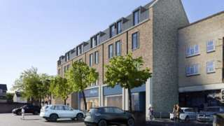 New flats and tesco