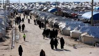 Al-Hol camp, north-east Syria (01/04/19)