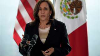 Ms Harris visited Guatemala and Mexico earlier this month