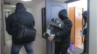 Обыски в Беларуси