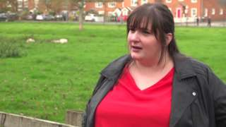 Former Apprentice Louise James, 33, speaks to the BBC on the farm where she now works.