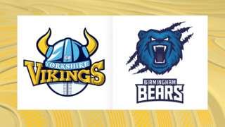Yorkshire Vikings v Birmingham Bears