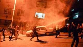 Беспорядки в Анкаре.