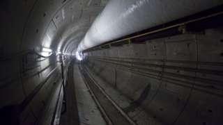 Crossrail tunnel